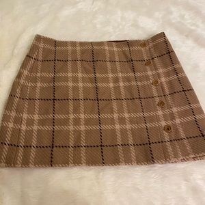 J. Crew Plaid Skirt Size 14